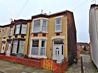 3 Bedrooms End Of Terrace House for sale in Clarence Road, Wallasey, Wirral, CH44