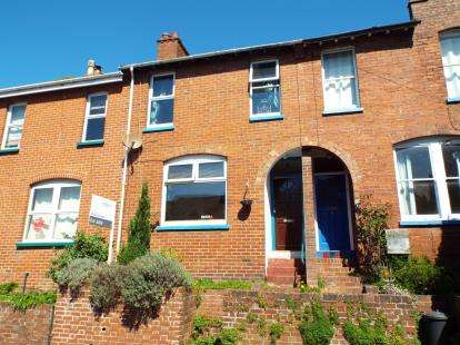 2 Bedrooms Terraced House for sale in Exeter, Devon, England
