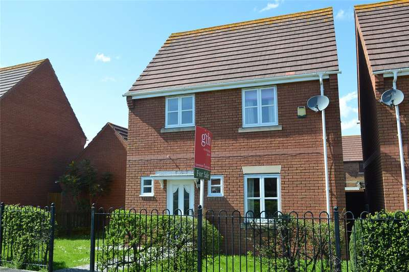 3 Bedrooms Detached House for sale in Gielgud Close, Burnham-on-Sea, Somerset, TA8