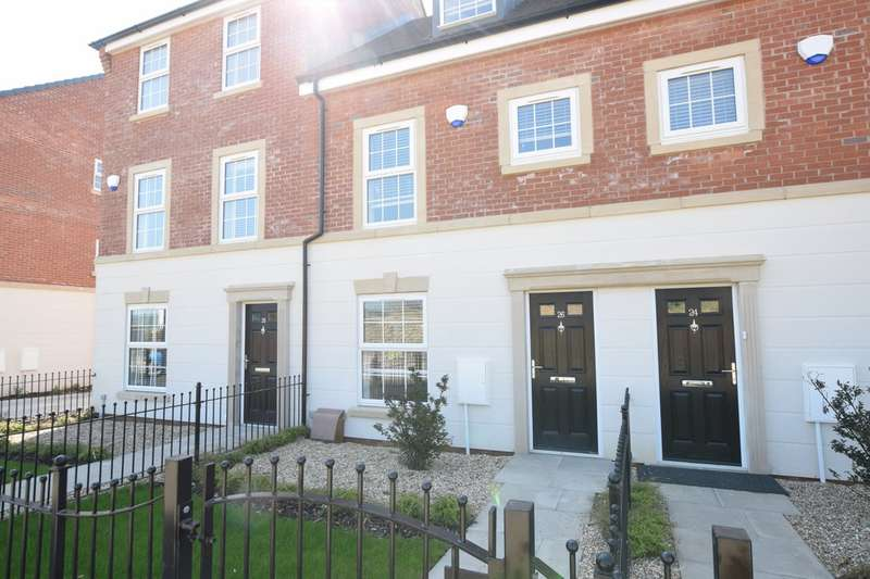 3 Bedrooms Terraced House for rent in Ashlar Drive, Scarborough