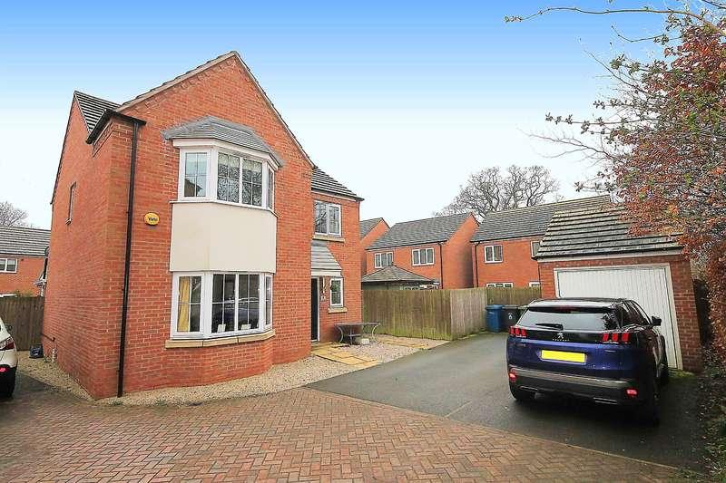 4 Bedrooms Detached House for sale in Eusden, Tamworth, B79 8DZ