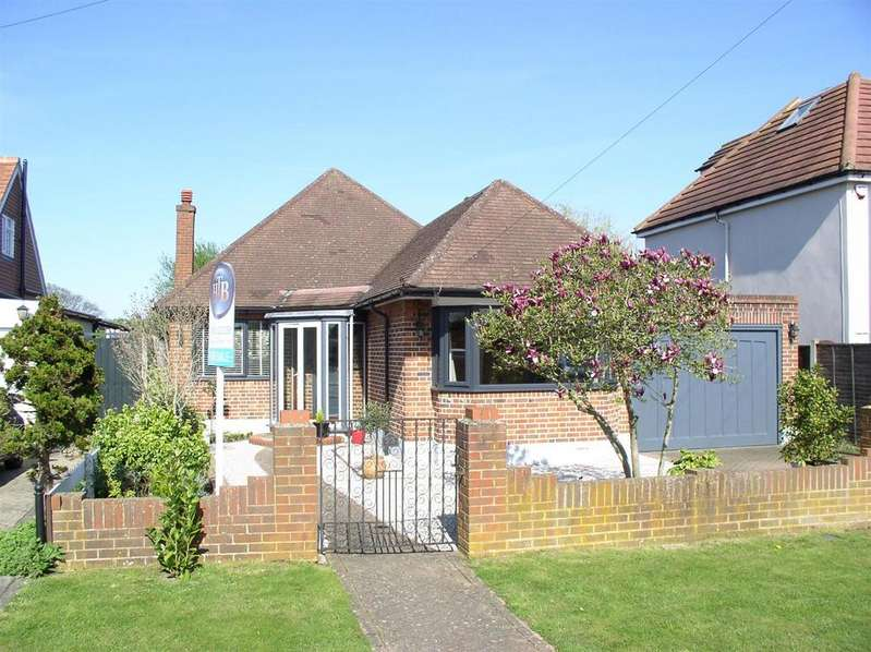 2 Bedrooms Detached Bungalow for sale in Shaldon Way, Walton-On-Thames