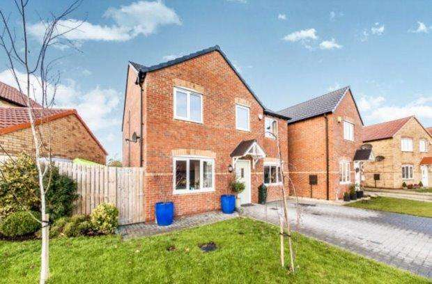 4 Bedrooms Detached House for sale in WHISTLEWOOD CLOSE, STOCKTON ROAD, HARTLEPOOL