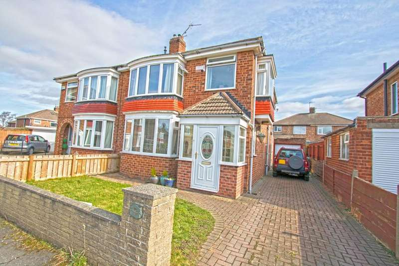 3 Bedrooms Semi Detached House for sale in Rushleigh Avenue, Acklam TS5
