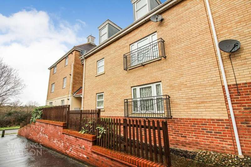 2 Bedrooms Ground Flat for sale in Mawkin Close, Three Score, Norwich