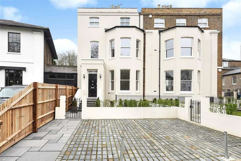 4 Bedrooms Semi Detached House for sale in Clarence Crescent, Windsor, Berkshire, SL4