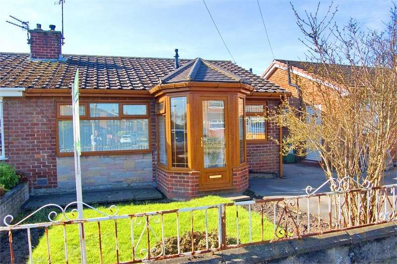 2 Bedrooms Semi Detached Bungalow for sale in Budworth Avenue, Sutton Manor, St Helens, Merseyside