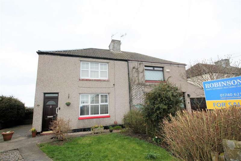 3 Bedrooms Semi Detached House for sale in Cleveland Avenue, Trimdon, Trimdon Station