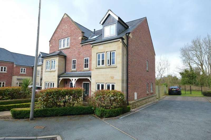 4 Bedrooms Semi Detached House for sale in Redbrow Hollow, Compstall