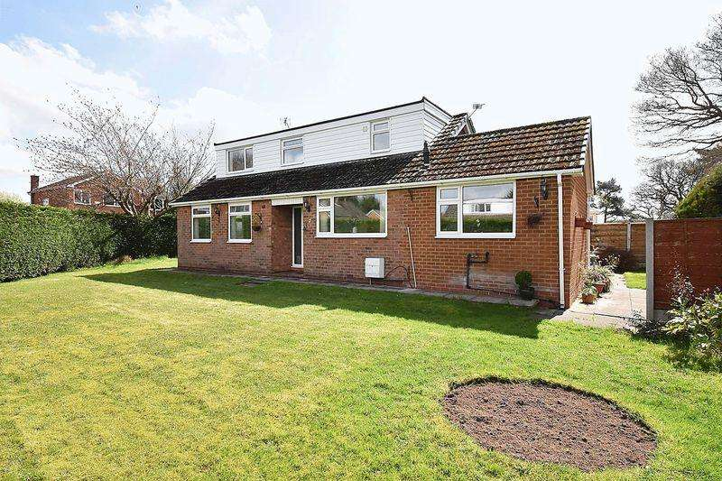 4 Bedrooms Detached Bungalow for sale in Summerfield Road, Knutsford
