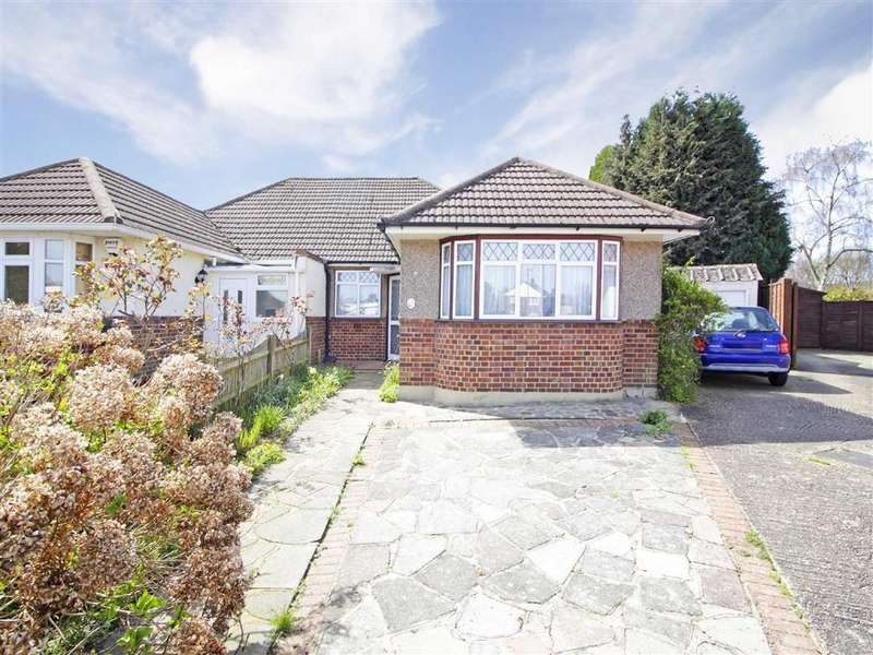 2 Bedrooms Semi Detached Bungalow for sale in Kydbrook Close, Petts Wood, Kent