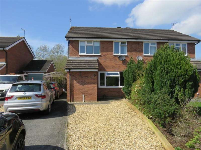3 Bedrooms Semi Detached House for sale in Hillcrest, Ellesmere, SY12