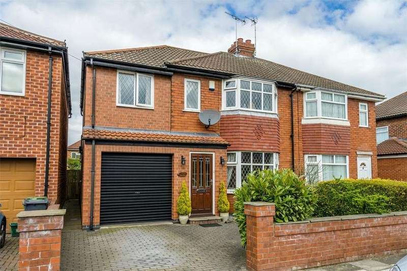 4 Bedrooms Semi Detached House for sale in The Garlands, Rawcliffe, YORK