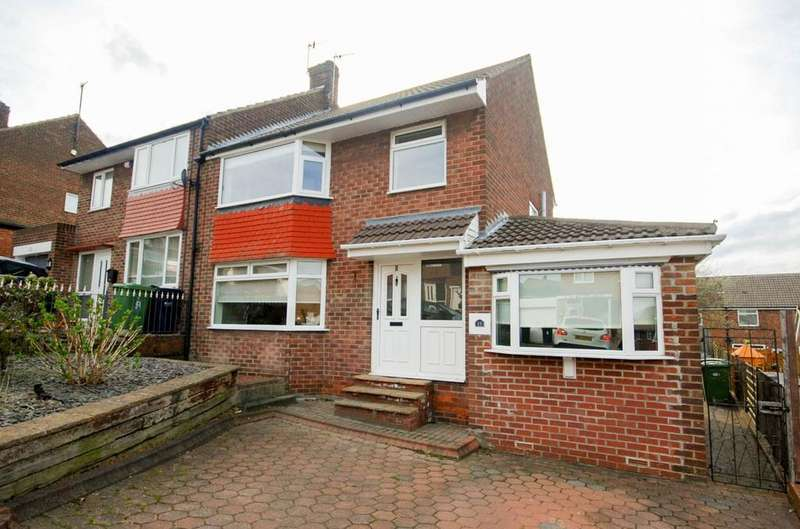 3 Bedrooms Semi Detached House for sale in Cherrytree Drive, Whickham