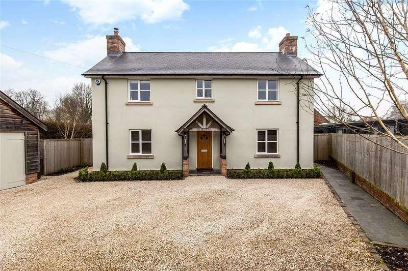 4 Bedrooms Detached House for sale in Joys Lane, Chilbolton, Stockbridge, Hampshire, SO20