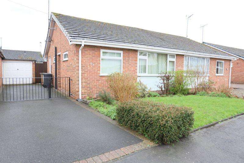 2 Bedrooms Semi Detached Bungalow for sale in Burlish Close, Stourport-On-Severn DY13 8XW