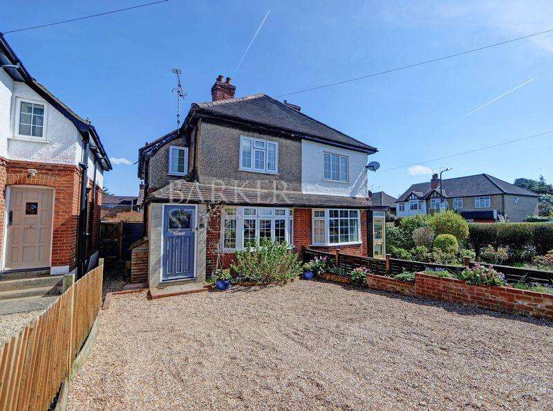 3 Bedrooms Semi Detached House for sale in Contemporary chic, well worth a peek
