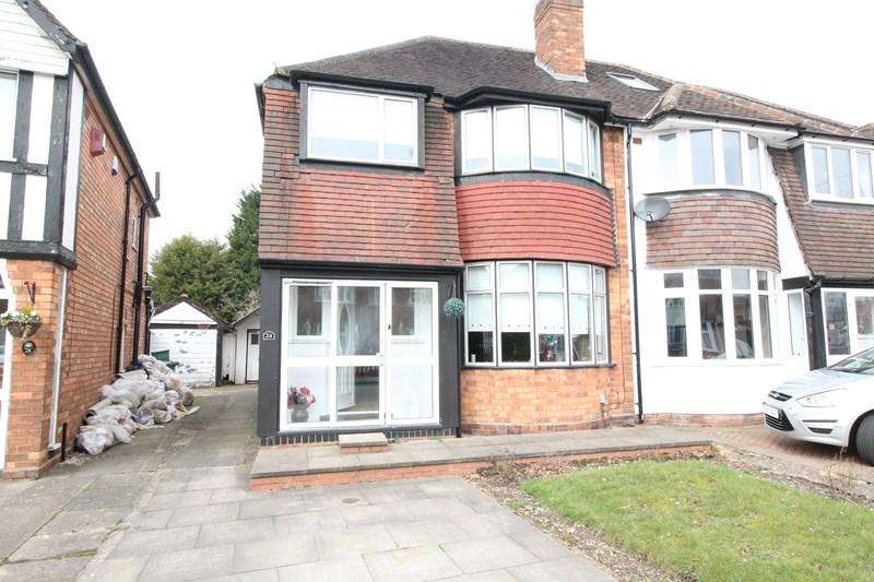 3 Bedrooms Semi Detached House for sale in Moreton Road, Shirley, Solihull