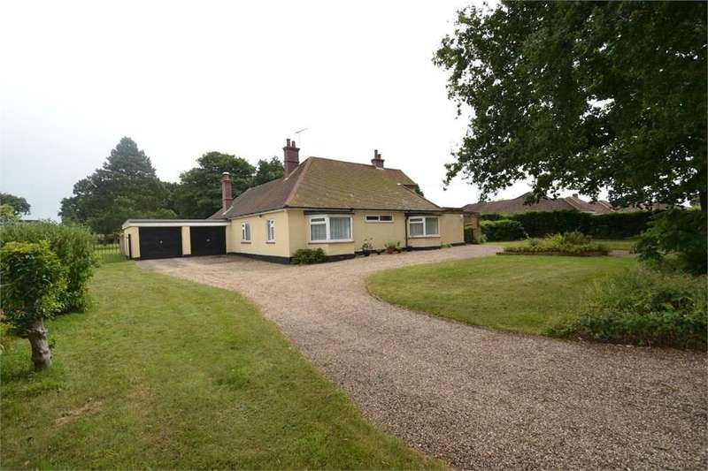 3 Bedrooms Detached Bungalow for sale in Coach Road, Great Horkesley, Colchester, CO6
