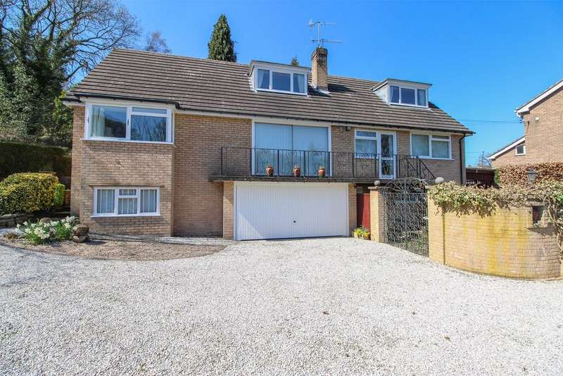3 Bedrooms Detached House for sale in Harewood Road, Holymoorside, Chesterfield