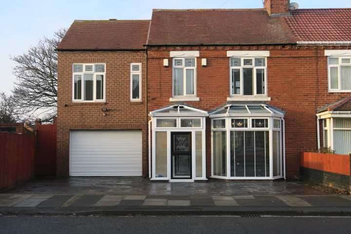 5 Bedrooms Semi Detached House for sale in Harton Lane, South Shields