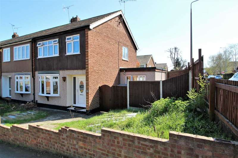 3 Bedrooms End Of Terrace House for sale in Rushdon Close