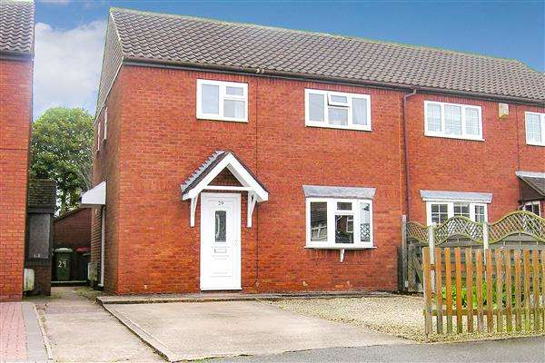 3 Bedrooms Semi Detached House for sale in Coronation Road, Hurley