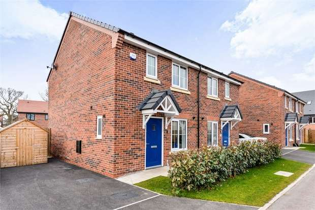 3 Bedrooms Semi Detached House for sale in Owen Close, Sandbach, Cheshire