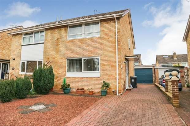 3 Bedrooms Semi Detached House for sale in Hawkswood, Hurworth Place, Darlington, Durham