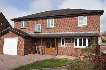 4 Bedrooms Detached House for sale in Crackley Toll, The Highlands, Leycett, Newcastle, ST5 6AF