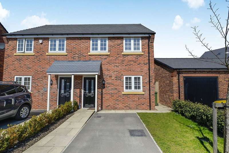 3 Bedrooms Semi Detached House for rent in Redfield Way, Eastfield, Scarborough, YO11