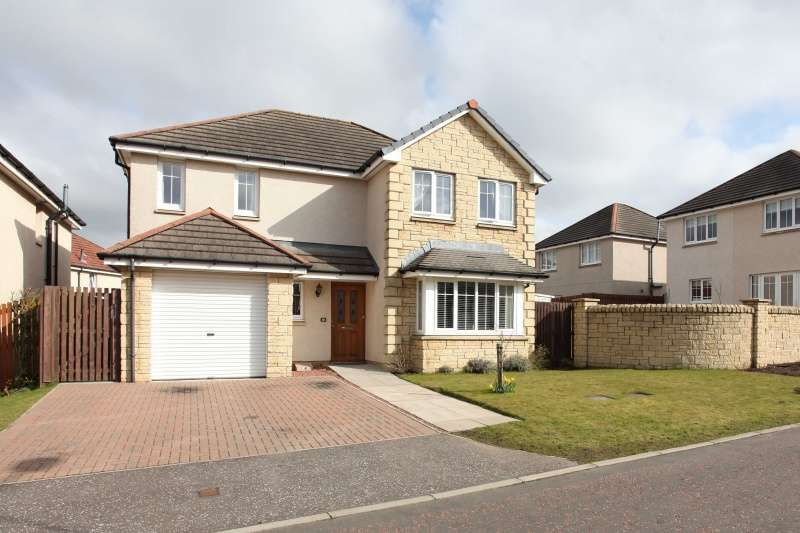 4 Bedrooms Detached House for sale in McGregor Court, Crossgates, Cowdenbeath, KY4 8ER