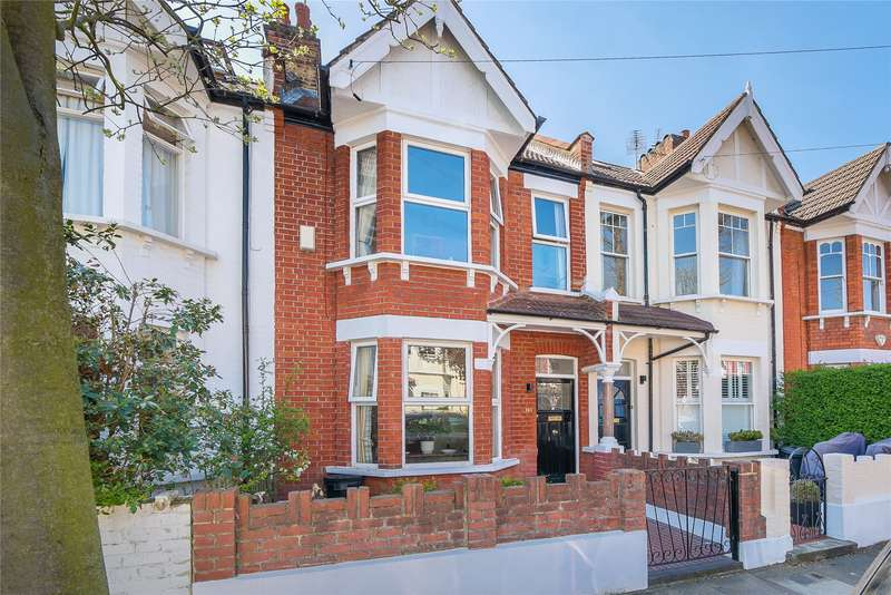 4 Bedrooms Terraced House for sale in Clonmore Street, Southfields, London, SW18