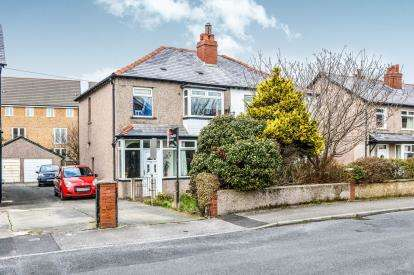 4 Bedrooms Semi Detached House for sale in Cumberland View Road, Heysham, Morecambe, Lancashire, LA3