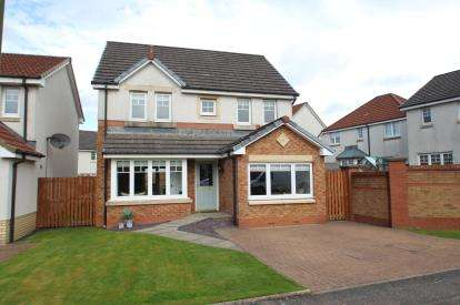 4 Bedrooms Detached House for sale in Tryst Park, Larbert
