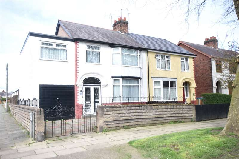 4 Bedrooms Semi Detached House for sale in Whitehedge Road, Garston, Liverpool, L19