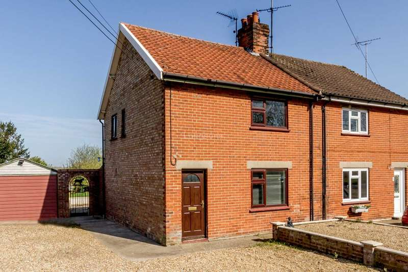 3 Bedrooms Semi Detached House for sale in Swaffham Road, Oxborough