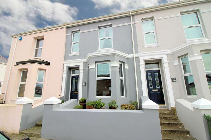 2 Bedrooms Terraced House for sale in Southmilton Street, Cattedown, Plymouth, PL4 0QD