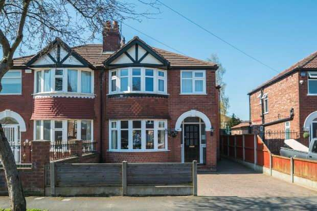 4 Bedrooms Semi Detached House for sale in Sylvan Avenue, Timperley