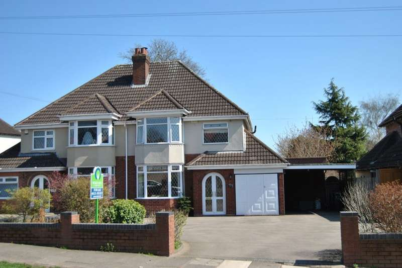 3 Bedrooms Semi Detached House for sale in Tessall Lane, Birmingham, B31