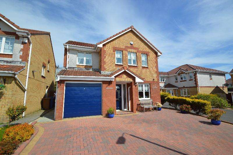 4 Bedrooms Detached House for sale in Hawkhill Drive , Stevenston, North Ayrshire, KA20 3DF