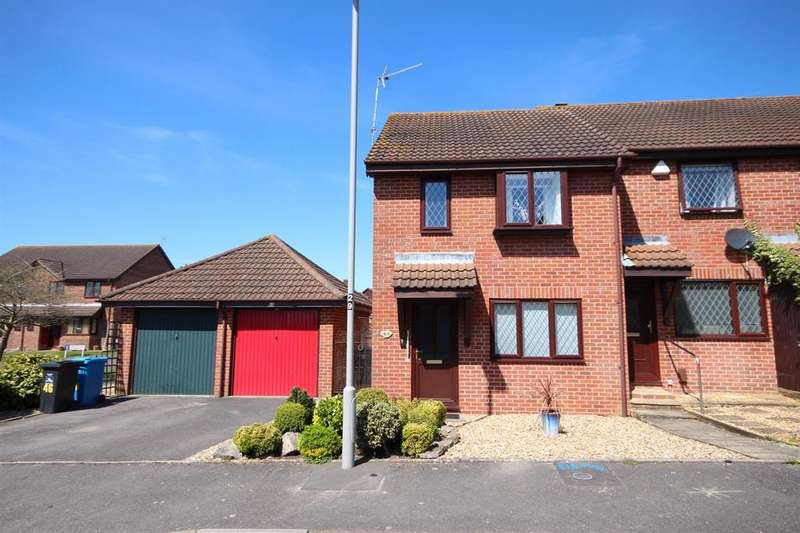 3 Bedrooms End Of Terrace House for sale in Portesham Way, Poole