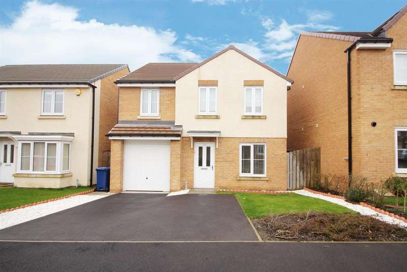 4 Bedrooms Detached House for sale in Ministry Close, Off Benton Park Road, Newcastle Upon Tyne