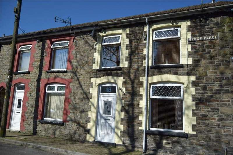 3 Bedrooms Terraced House for sale in Gynor Place, Ynyshir, Porth, Mid Glamorgan