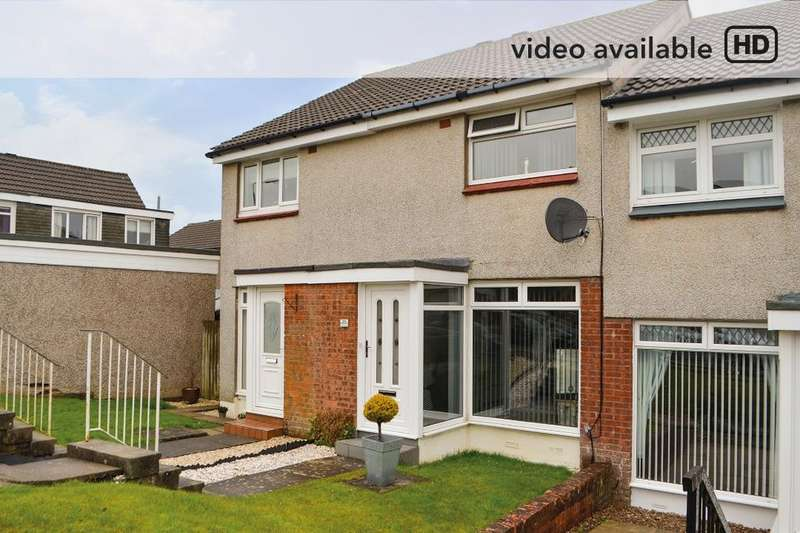 2 Bedrooms Terraced House for sale in Mossdale Gardens, Hamilton, South Lanarkshire, ML3 8UY