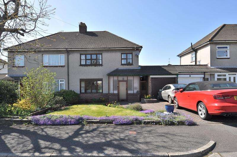 3 Bedrooms Semi Detached House for sale in 8 Orchard Crescent, Dinas Powys, The Vale Of Glamorgan. CF64 4JZ