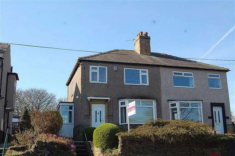 3 Bedrooms Semi Detached House for sale in Wheatley Road, Lea Mount, Halifax, HX3