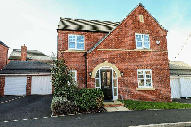 4 Bedrooms Detached House for sale in Parish Drive, Tipton