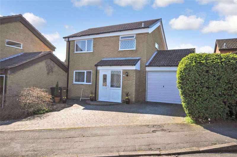 3 Bedrooms Detached House for sale in Cranmere Road, Melton Mowbray, Leicestershire