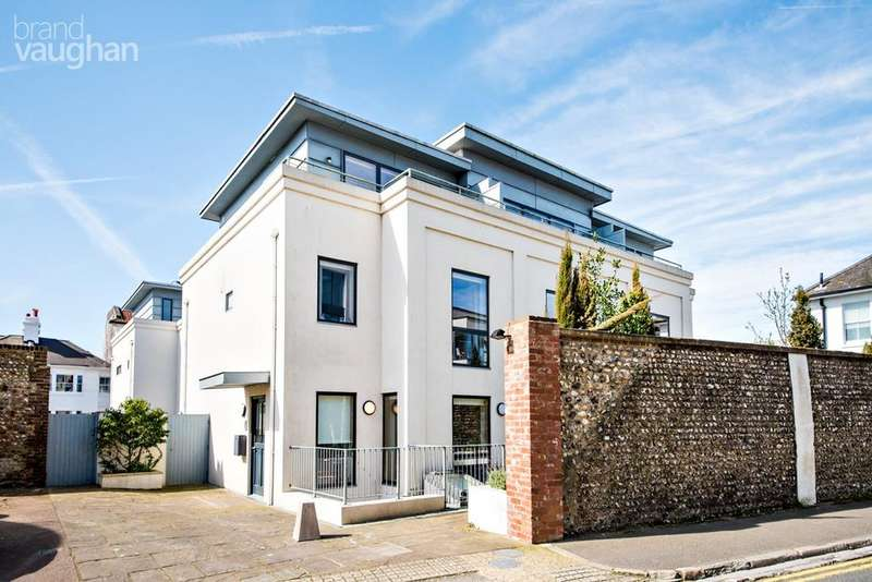3 Bedrooms End Of Terrace House for sale in Clifton Hill, Brighton, BN1